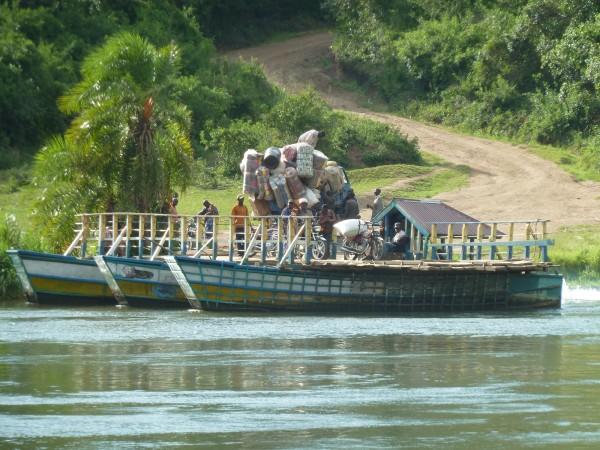 Crossing the Semiliki River