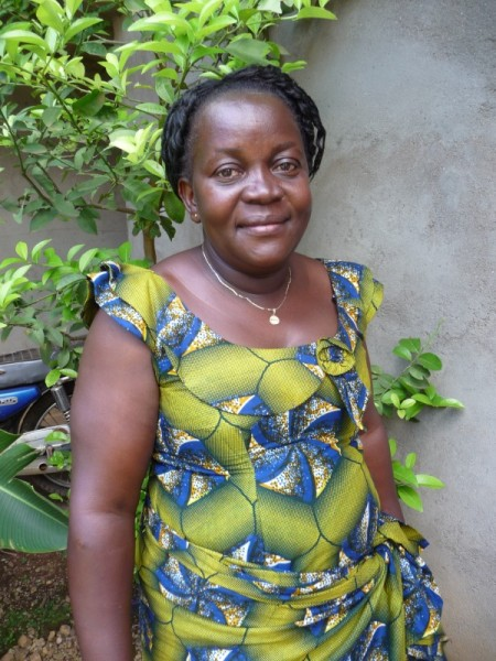 Lilly, Nurse in charge of Masiki Health Centre